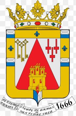 Shield - Escutcheon Coat Of Arms Municipalidad De San Pedro Sula Crest Shield PNG