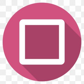 Playstation Square - Pink Square Area Purple PNG