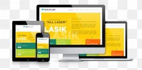 Eye Care - Responsive Web Design Joomla Website Development Computer Software PNG