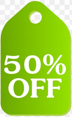 Green Discount Tag Clip Art Image - Icon PNG