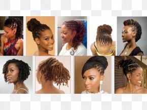 Ladies Hair Style - Long Hair Braid Johannesburg Beauty Parlour Hair Coloring PNG