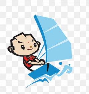 Sailing Mascot - Mascot Clip Art PNG
