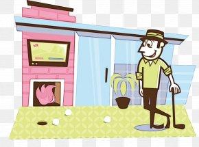 House Play - Cartoon Clip Art Play House PNG