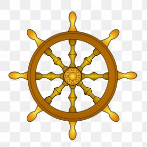 Wheel Of Dharma - Ship's Wheel Fisherman's Spring Do Not Go Gentle Into That Good Night, Old Age Should Burn And Rave At Close Of Day; Rage, Rage Against The Dying Of The Light. Boat PNG