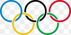 Olympic Rings - 2024 Summer Olympics Brand Circle Area Clip Art PNG