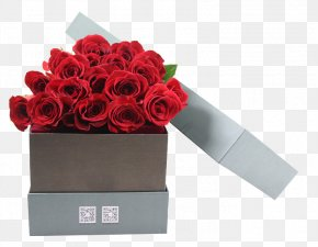 Red Rose Floating Material - Cut Flowers Rose Flower Bouquet Gift PNG