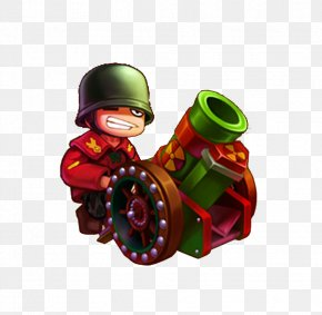 Happy Small Artillery - Phxe1o Binh Raster Graphics PNG