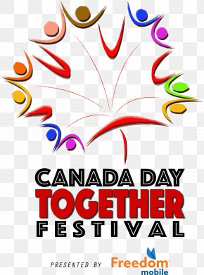 Canada Day - Together Festival 2018 Mississauga Canada Day Graphic Design 1 July PNG
