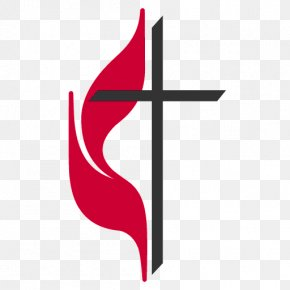 Ash Wednesday 2019 Methodist Church - Cross And Flame United Methodist Church Methodism United Methodist Women PNG