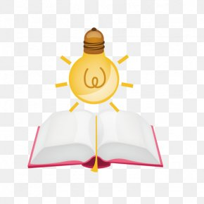 Books Under The Lamp - Light Fixture Download PNG