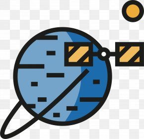 Satellite Planet - Satellite Icon PNG