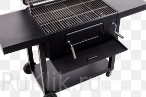 Barbecue - Barbecue Char-Broil BBQ Smoker Charcoal Grilling PNG