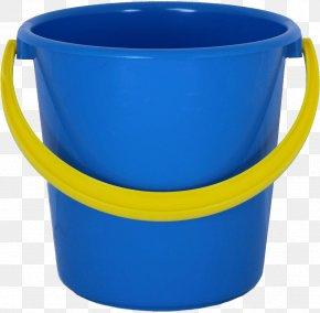Plastic Blue Bucket Image - Bucket Plastic PNG