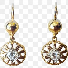 Earring Gold Silver Body Jewellery PNG