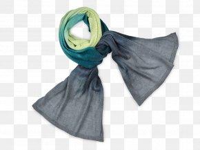 Batik - Scarf Stole Turquoise PNG