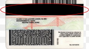 Driving License - Identity Document Forgery Magnetic Stripe Card Image Scanner Information PNG