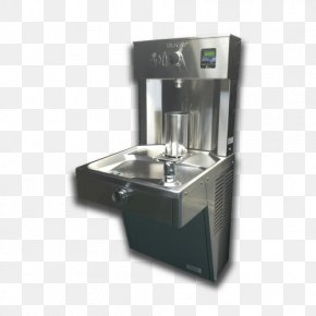 Airport Water Refill Station - Water Filter Drinking Fountains Water Cooler Elkay Manufacturing PNG