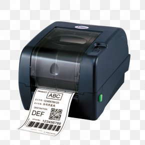 Printer - Barcode Printer Label Printer Thermal-transfer Printing Dots Per Inch PNG
