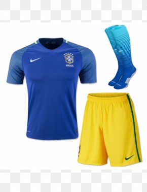 T-shirt - Brazil National Football Team 2018 FIFA World Cup T-shirt Jersey PNG