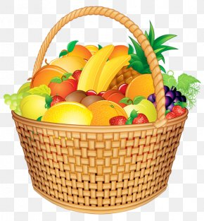 Picnic Basket - Fruit Food Gift Baskets Clip Art PNG