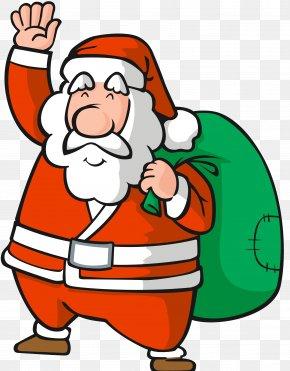 Santa Claus - Santa Claus Cartoon Ded Moroz Clip Art Snegurochka PNG