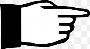 Hand - Clip Art Index Finger Hand Digit PNG