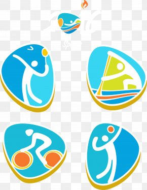 Rio 2016 Olympic Games Sports Icon - 2016 Summer Olympics 2016 Summer Paralympics Badminton Olympic Sports Icon PNG