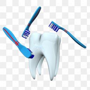 Hand Painted Teeth Clean - Toothbrush Teeth Cleaning Tooth Brushing PNG