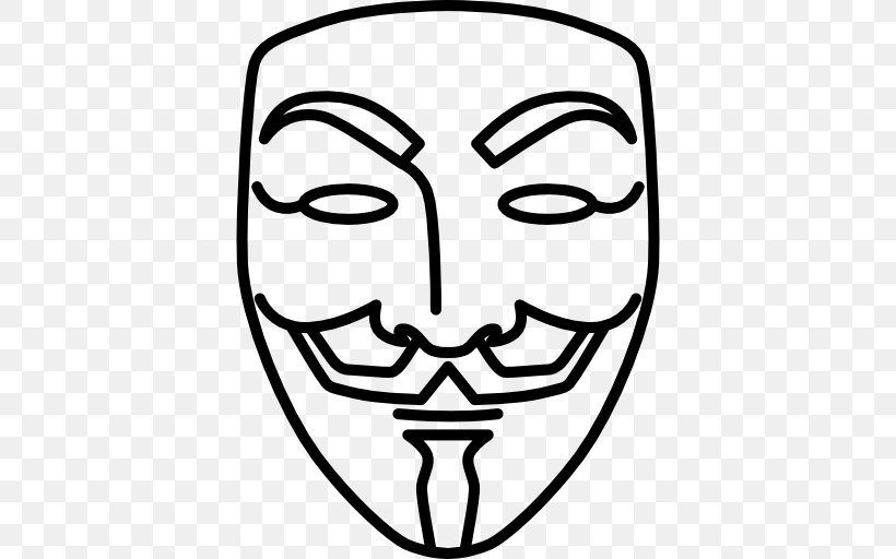 V For Vendetta Guy Fawkes Mask Drawing Png 512x512px V