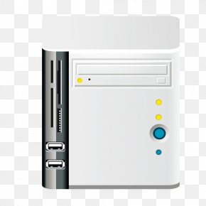 Square Computer Host - Computer Host Download Computer File PNG
