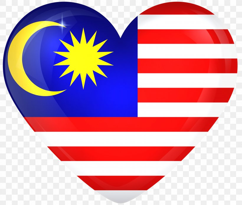 Flag Of Malaysia National Flag, PNG, 6000x5086px, Flag Of Malaysia, Country, Flag, Flagpole, Heart Download Free