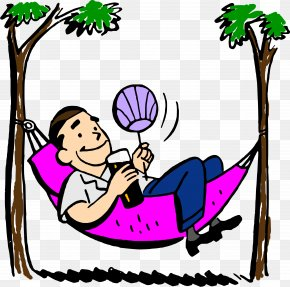 Hammock Cliparts - Feeling Good Clip Art PNG
