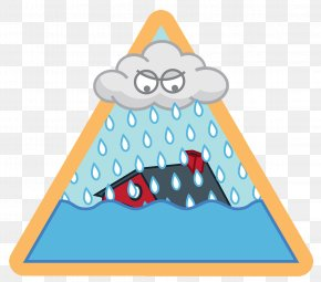 The Storm Drowned The House - Flood Drawing Clip Art PNG