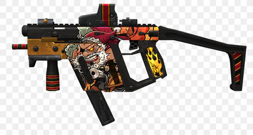 Point Blank Kriss Vector Weapon Firearm Png 1000x533px