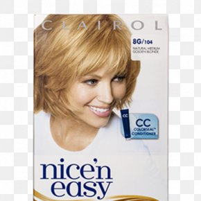 Hair Style Collection - Nice 'n Easy Clairol Hair Coloring Hairstyle PNG