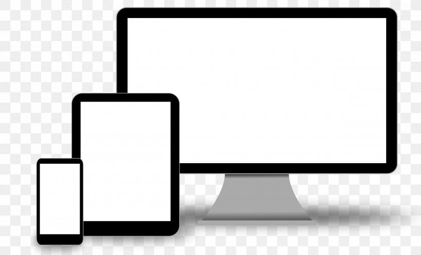 Responsive Web Design Web Development, PNG, 2520x1530px, Responsive Web Design, Area, Black And White, Brand, Communication Download Free