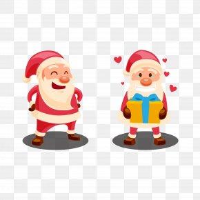 Vector Santa Claus - Santa Claus Christmas Clip Art PNG