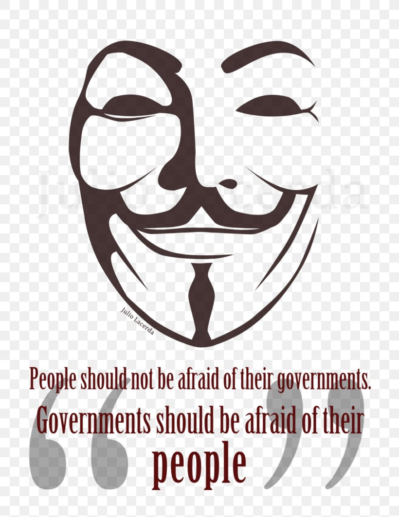 V For Vendetta Guy Fawkes Mask Drawing Stencil, PNG, 752x1063px, Guy Fawkes Mask, Art, Black And White, Brand, Decal Download Free