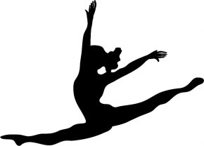 Dancing Executives Cliparts - Ballet Dancer Silhouette Jazz Dance Clip Art PNG