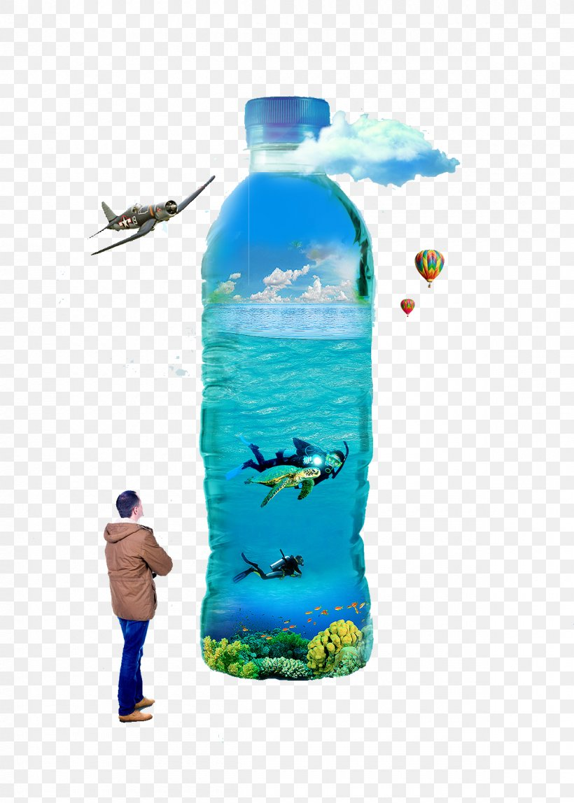 Water Bottle Mineral Water Bottled Water, PNG, 1200x1680px, Water, Advertising, Blue, Bottle, Bottled Water Download Free