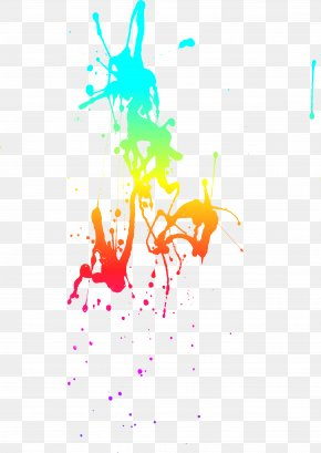 Dream Colorful Watercolor - Watercolor Painting Ink Illustrator Illustration PNG