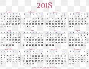 Calendar 2018 - Julian Calendar Calendar Date Soviet Calendar PNG
