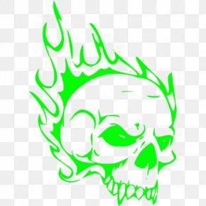 Skull - Airbrush Stencil Human Skull Symbolism Drawing PNG