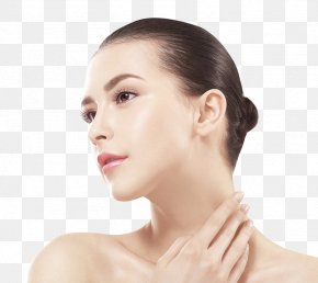 Foreign Models In Europe And America - Cleanser Skin Care Neck Face PNG