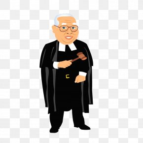 Formal Wear - Dalveer Bhandari Lawyer Judge Court Clip Art PNG