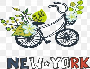 Bike Ride Over New York - New York City PNG