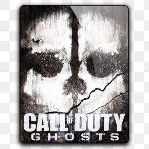 Ghost Call Of Duty Logo - Call Of Duty: Ghosts PlayStation 4 Video Game YouTube Tesh PNG