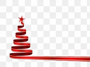 Christmas Ribbon - Christmas Tree Christmas Decoration Star Of Bethlehem Clip Art PNG