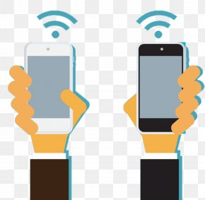 WIFI Phone - Euclidean Vector Mobile Phone Wi-Fi PNG