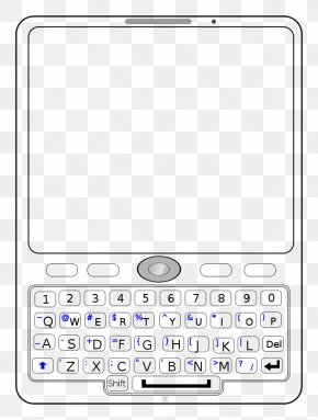 Blackberry - Feature Phone Mobile Phones Telephone Clip Art PNG